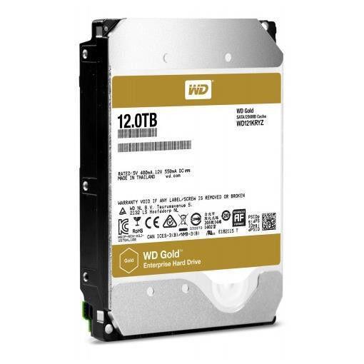 Western Digital 10tb gold 256 mb 3.5in sata 6gb/s 7200rpm WD GOLD Videoproiettori Tv - video - fotografia