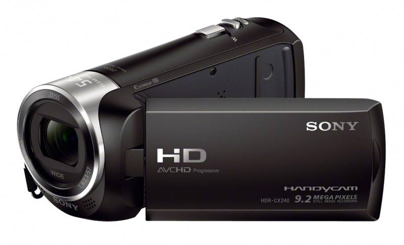 Sony movie hdrcx240eb Accessori foto/video digitali Tv - video - fotografia