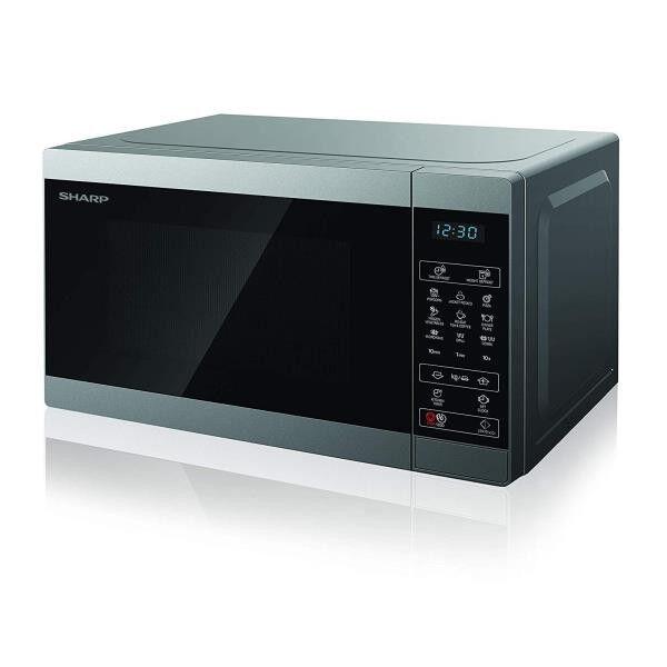 Sharp yc-mg02es micro 20l elettronico grill microonde + Microonde 20L Elettronico+Grill Congelatori Elettrodomestici