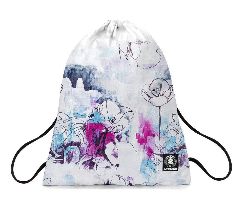 invicta zaino sacca invicta easy pack paint and flower ft9