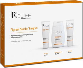 Relife Pigment Solution Program Kit Crema 30 Ml + Crema 30 Ml + Detergente 100 M