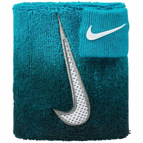Nike Swoosh Wristband Fascia con foro pollice AC0347-301
