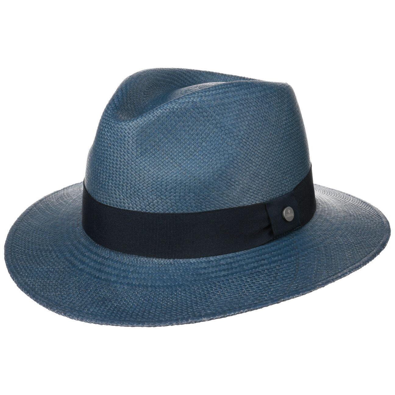 Lierys Cappello Panama Classic Moda Traveller by Lierys in denim, Gr. S (55-56 cm)