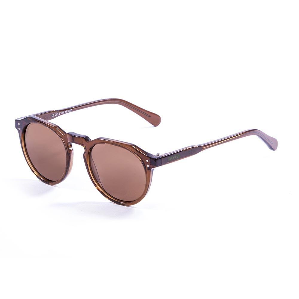 Lenoir Eyewear Paris CAT3 Dark Brown Trasnparent With Brown Lens