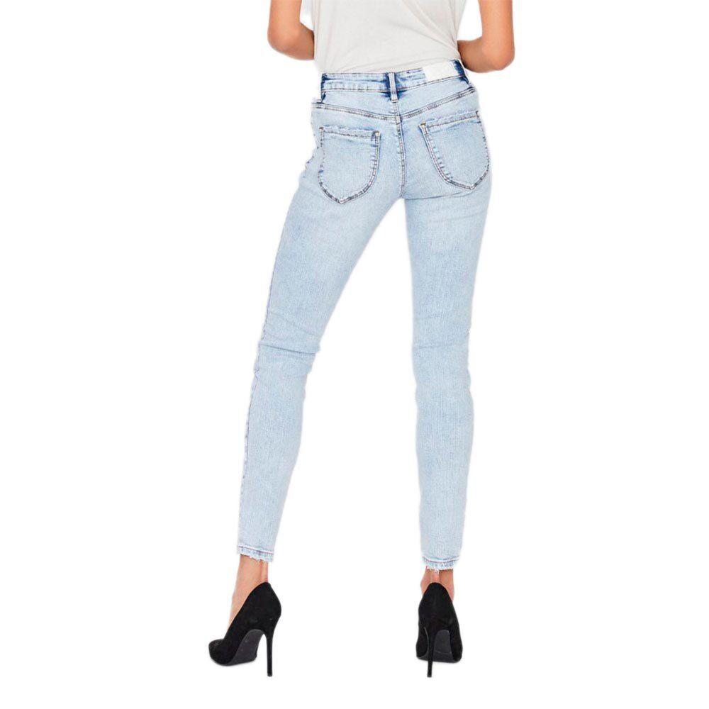 Vero Moda Lydia Low Waist Skinny Fit XS Light Blue Denim