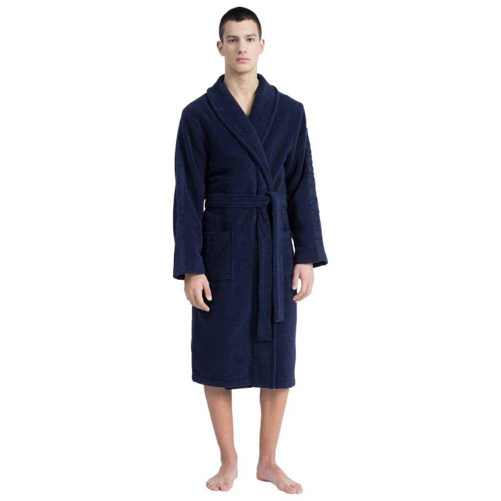 Calvin Klein Underwear Bathrobe L-XL Blue Shadow