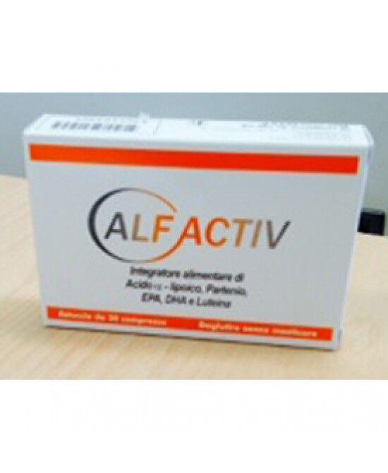 fitoproject srl alfactiv integratore 30cpr
