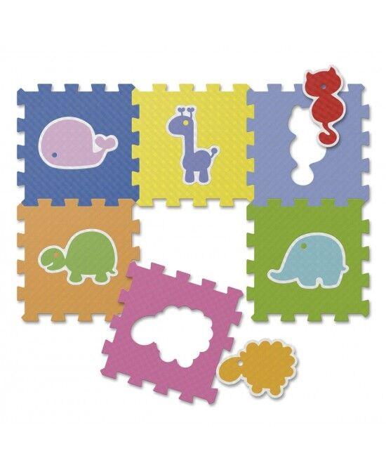 chicco (artsana spa) chicco gioco tappeto puzzle animali