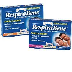 glaxosmithkline c.health.spa cerotto nasale classico adulti respira bene 30 pezzi