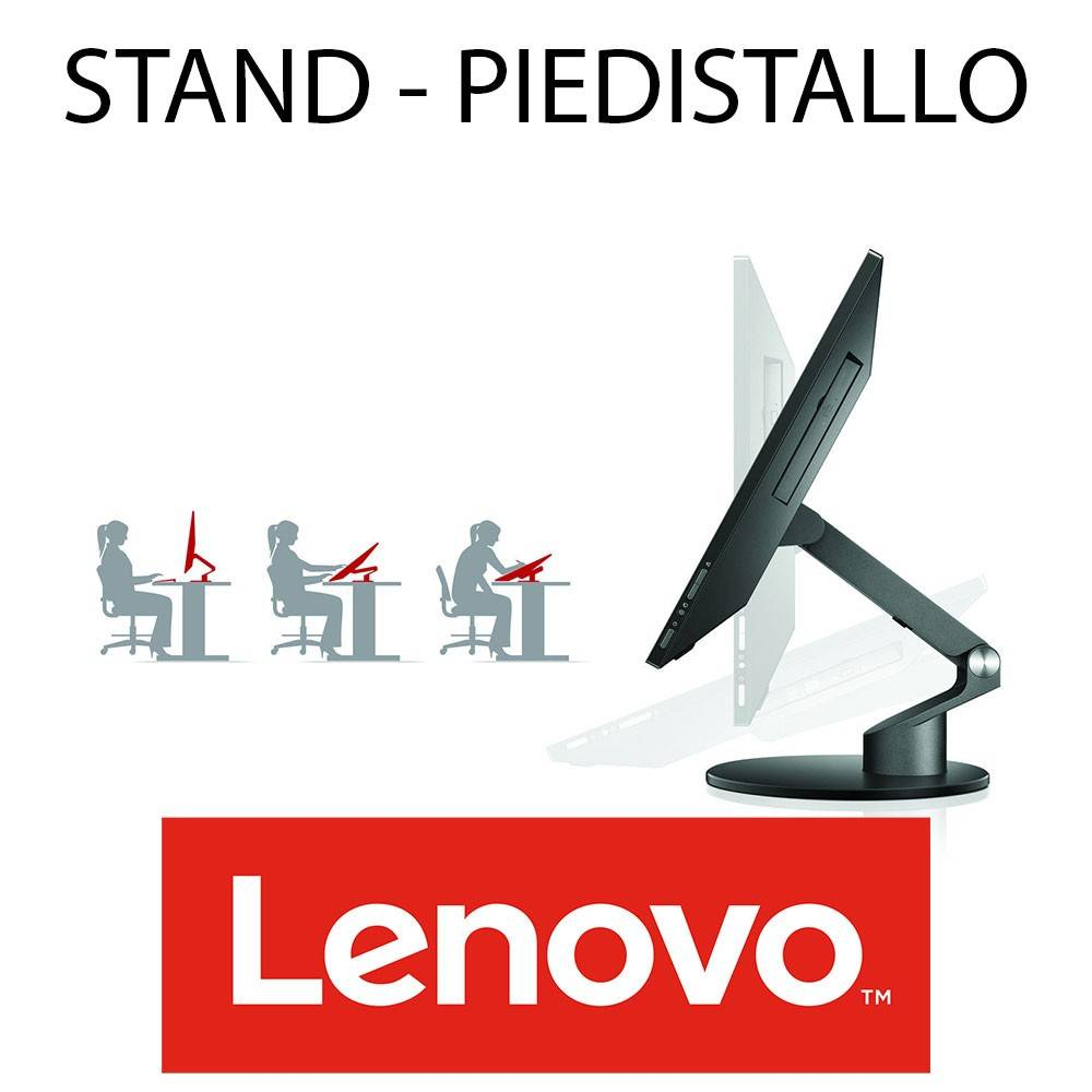 HP STAND SUPPORTO PC ALL IN ONE LENOVO THINKCENTRE
