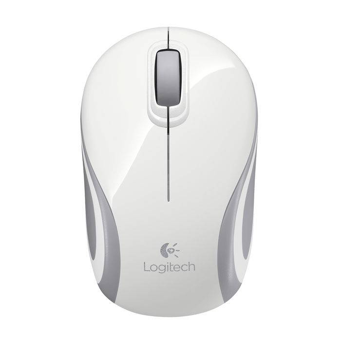 Logitech Wireless Mini Mouse M187 Bianco