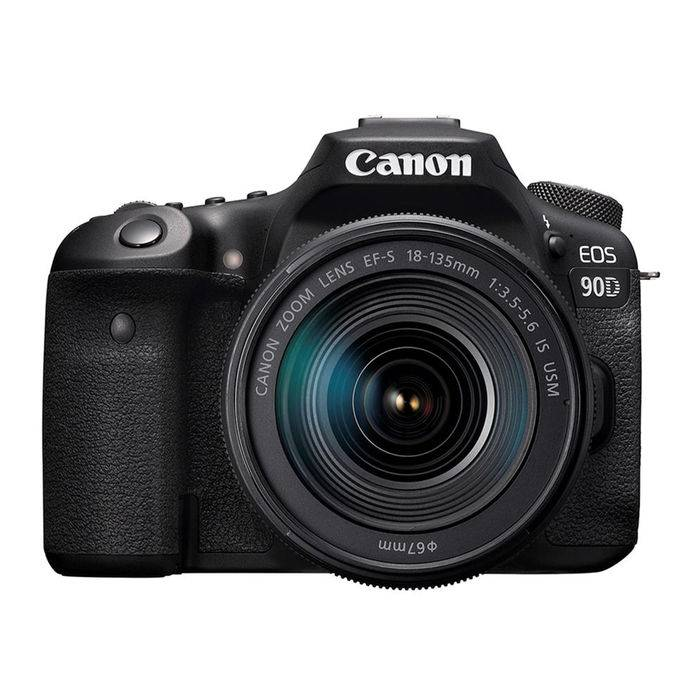 Canon EOS 90D + EF-S 18-135 MM F/3.5-5.6 IS USM BLACK