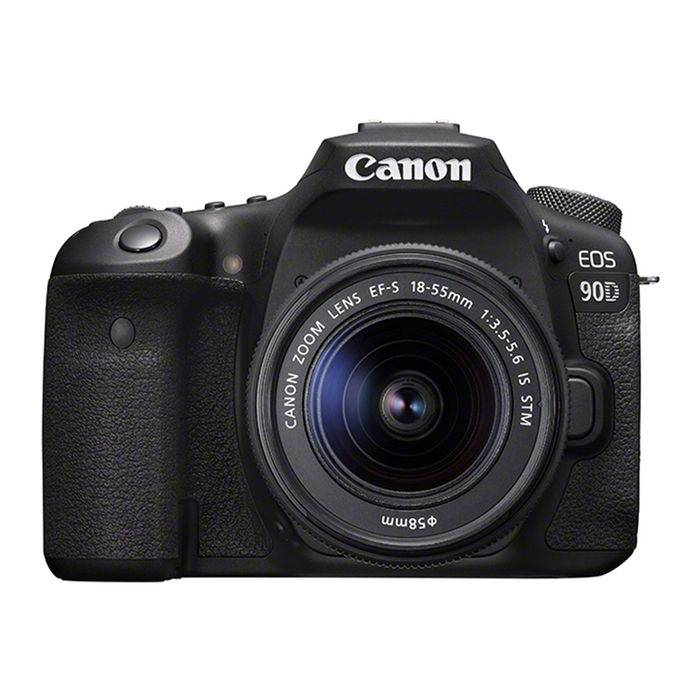 Canon EOS 90D + EF-S 18-55MM F/3.5-5.6 IS STM BLACK