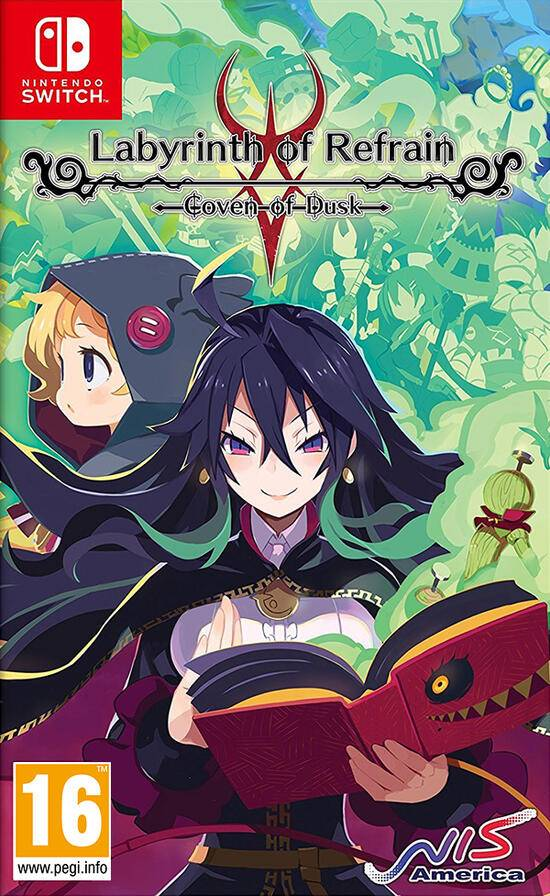 nis america labyrinth of refrain - coven of dusk
