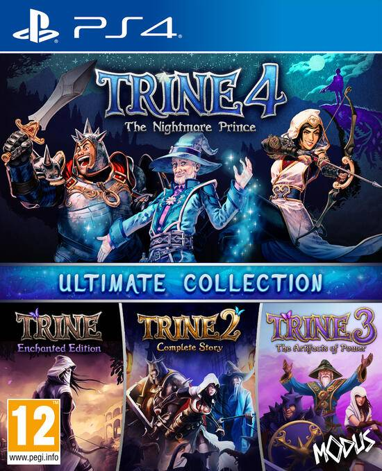 modus games trine 1-4: ultimate collection