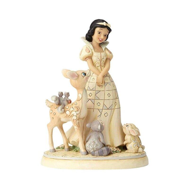 Disney Traditions statuina Biancaneve con abito bianco