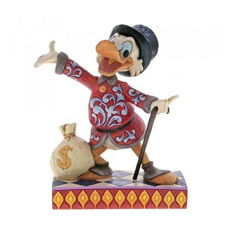 Disney Traditions Zio Paperone con sacca di dollari