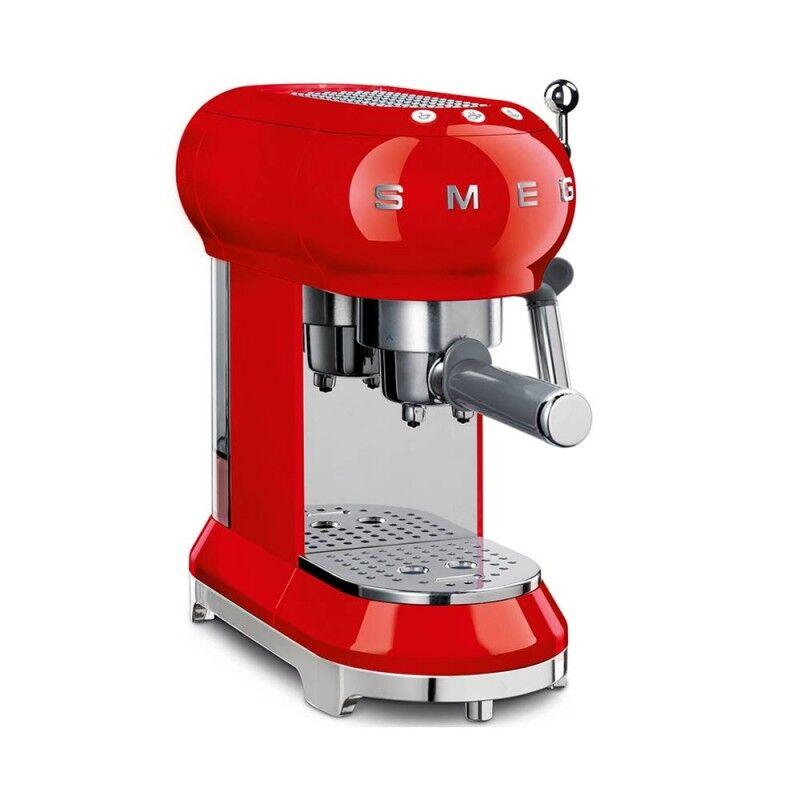 SMEG Macchina da caffè espresso 50's Style rosso