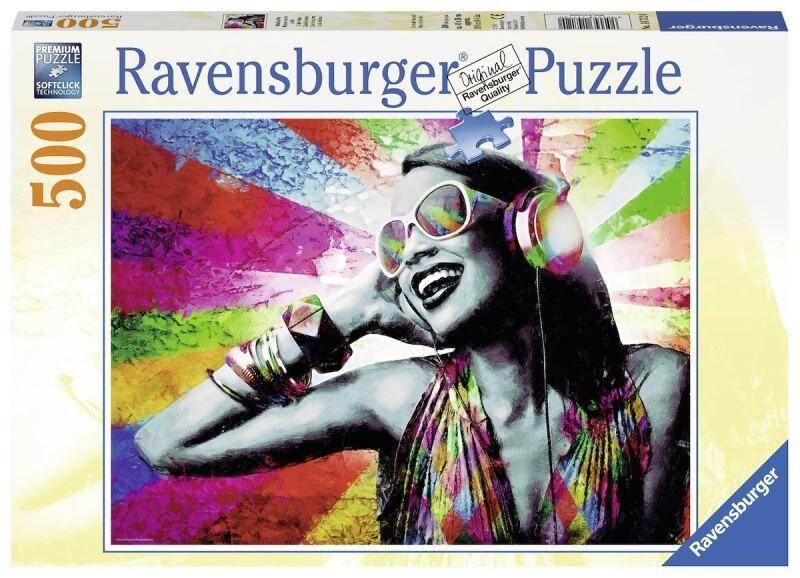RAVENSBURGER Puzzle 500 Pezzi Music & Colors Puzzle Giocattolo 536