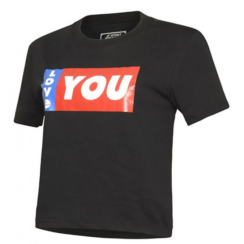 sport specialist t-shirt donna cropped fitness ily - sport specialist
