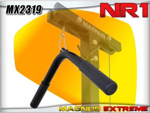 magnus handle for lat tower or atlas, v-shaped magnus mx2319
