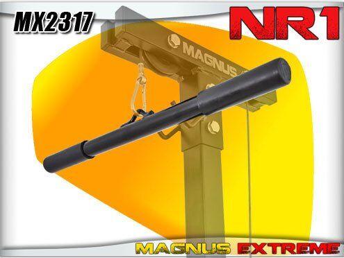 magnus straight bar for lat tower magnus extreme mx2317