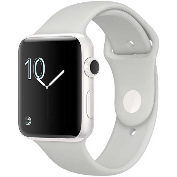 apple watch edition - cassa in ceramica bianca con cinturino sport nuvola (42 mm)