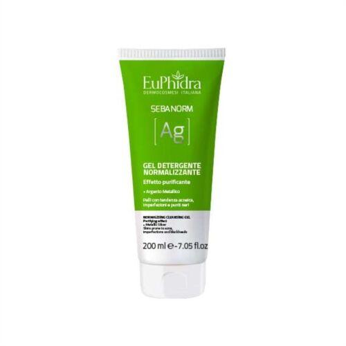 EuPhidra Linea Sebanorm AG Gel Detergente Normalizzante Purificante 200 ml