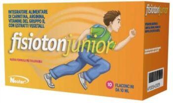 B.l.v. pharma group srl Fisioton junior 10 flaconi da 10 ml