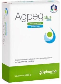 AG Pharma Agpeg plus esse 4 buste orosolubili da 60,98 g
