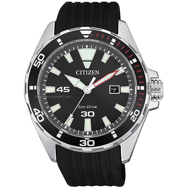 citizen orologio eco drive uomo of collection sport bm7459-10e