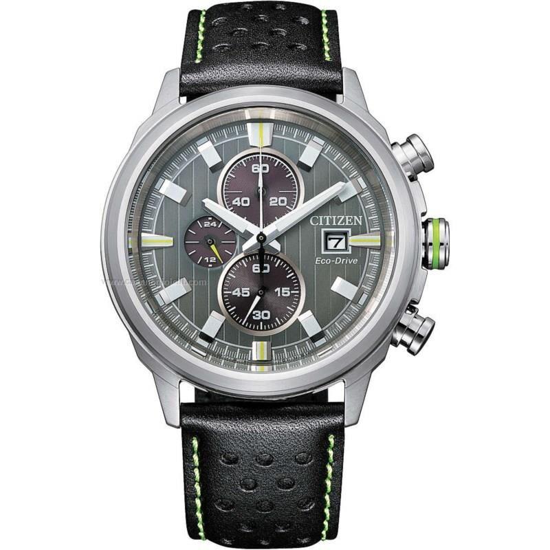 citizen orologio eco drive uomo of collection sport ca0739-13h