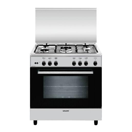 Glem A855GI Libera installazione 95L A Acciaio inossidabile cucina