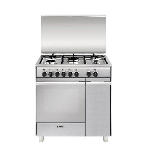 Glem Gas UQ855MI6 cucina Piano cottura Acciaio inossidabile A