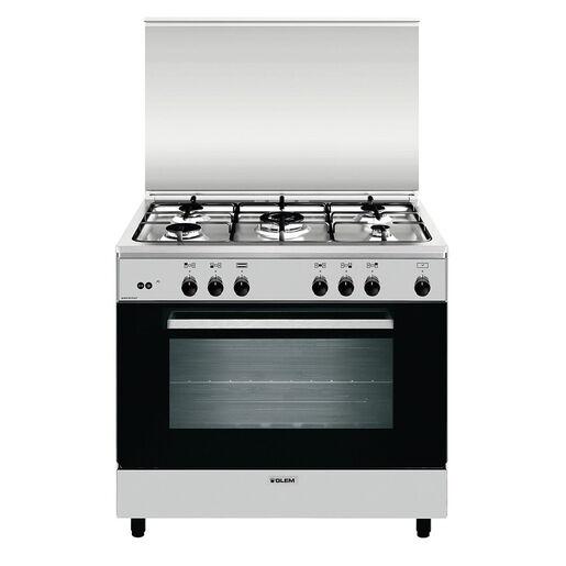 Glem Gas AN965GI cucina Piano cottura Acciaio inossidabile A