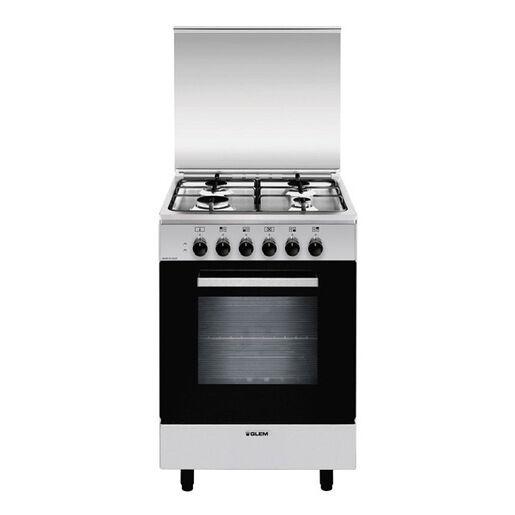 Glem Gas A554MI6 cucina Piano cottura Acciaio inossidabile A