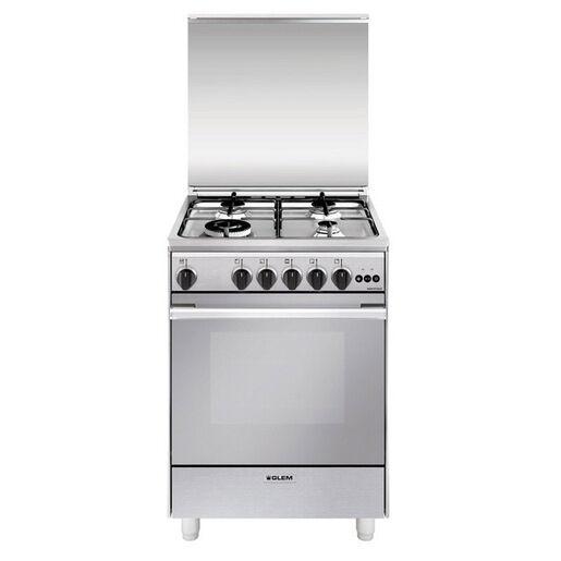 Glem U664VI cucina Piano cottura Acciaio inossidabile Gas A