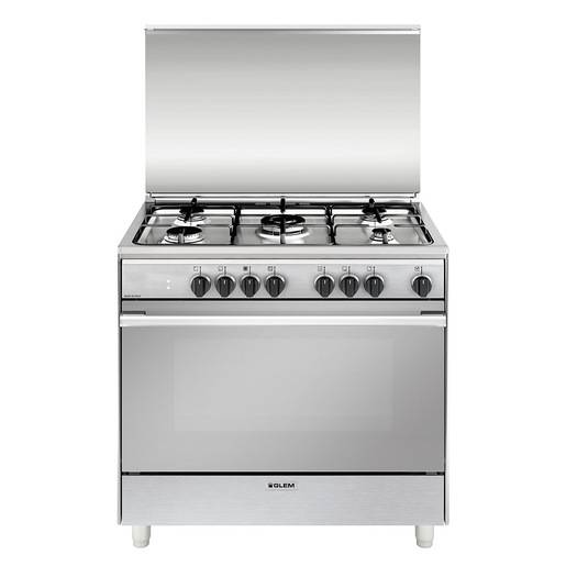 Glem Gas UN965MI cucina Piano cottura Acciaio inossidabile A
