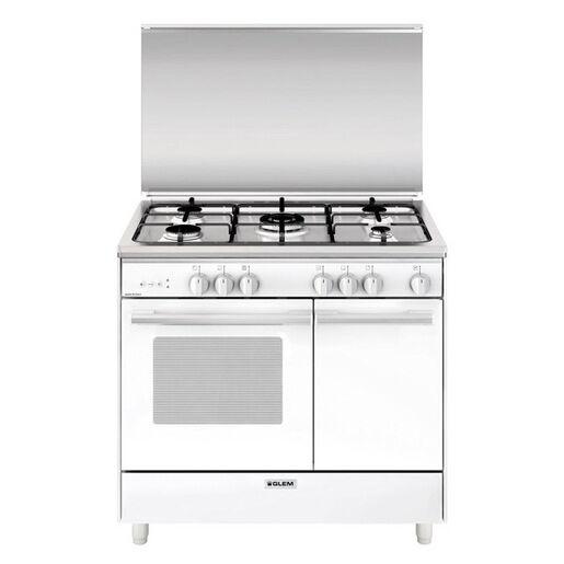 Glem Gas UR965VX cucina Piano cottura Bianco A