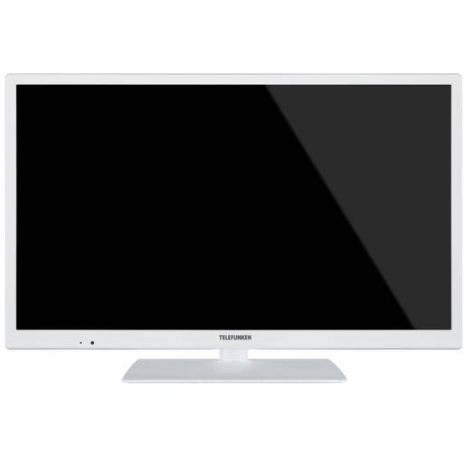 Telefunken TE 24472 S27 YXBW 24'' HD bianco LED TV