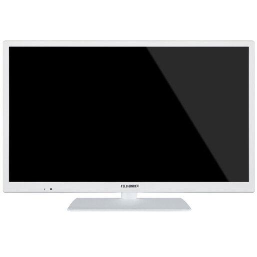 Telefunken TE 24472 S27 YXBW 24'' HD bianco LED TV
