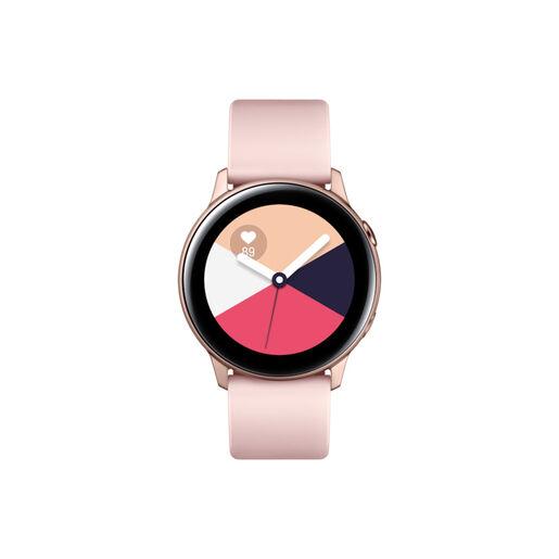 samsung galaxy watch active sm-r500 smartwatch rose gold samoled 2,79