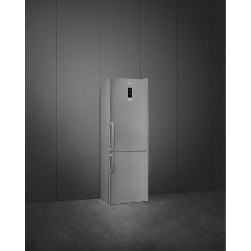 SMEG FC23MXNUE frigorifero con congelatore Libera installazione Acciai