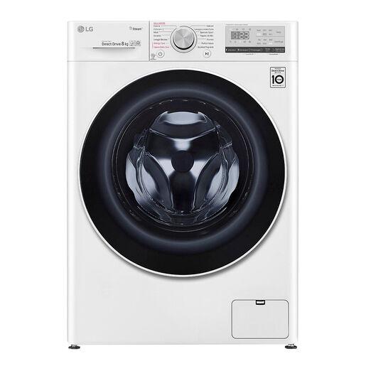 LG F4WV408S0E lavatrice Libera installazione Caricamento frontale Bian