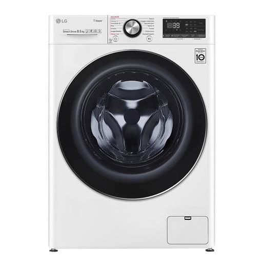 LG F2WV9S8P2 lavatrice Libera installazione Caricamento frontale Bianc