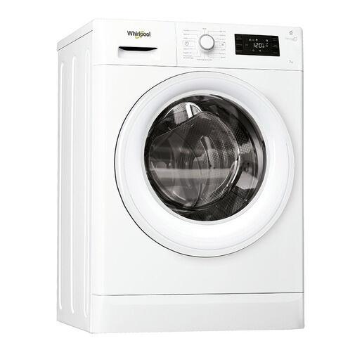 Whirlpool FWSG71253W lavatrice Libera installazione Caricamento fronta