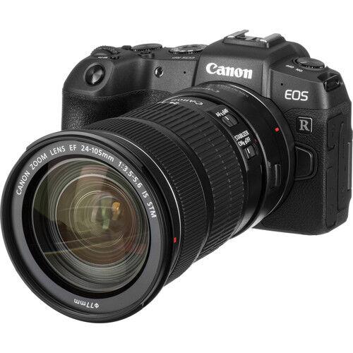 canon eos rp + rf 24-105mm f/4-7.1 is stm + adattatore - 2 anni di garanzia in italia