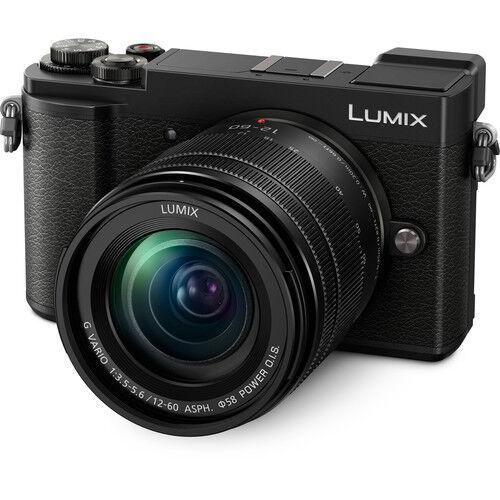 panasonic lumix dc-gx9 + g 12-60mm f/3.5-5.6 asph. o.i.s. - nero - 2 anni di garanzia in italia