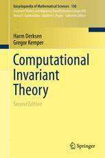 Harm Derksen; Gregor Kemper Computational Invariant Theory