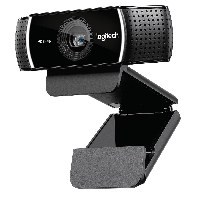 Logitech C922 webcam 1920 x 1080 Pixel USB Nero